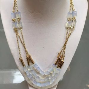 Anthropologie Jewelry - Anthro glass necklace